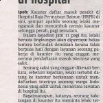 Antara rawatan Hospital Kerajaan & Swasta
