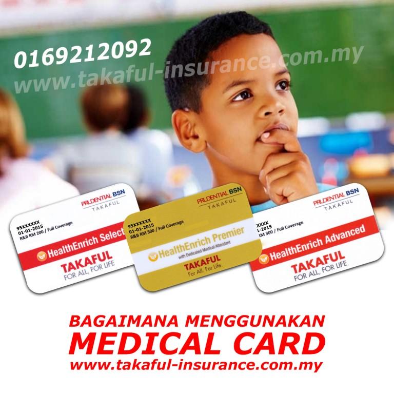 Bagaimana Menggunakan Medical Card Untuk Kemasukan Hospital